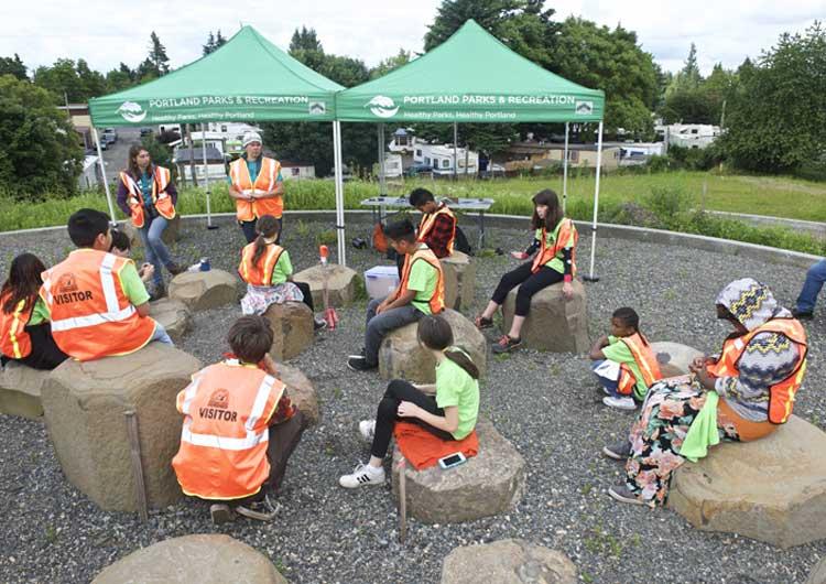 Cully Park Portland Oregon